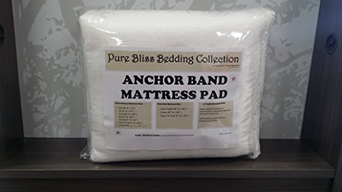 (Linen Superstore Anchor Band Waterbed Mattress Pad Queen Waterbed)