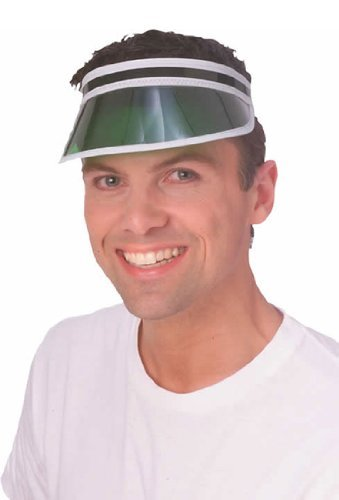 Rubie's Poker Visor Costume Accessory, Green, One Size]()