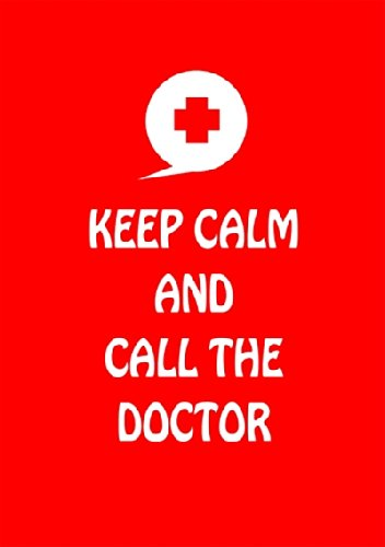 "Disagu Design Case Coque pour Apple iPhone 4 Housse etui coque pochette ""KEEP CALM AND CALL THE DOCTOR"""