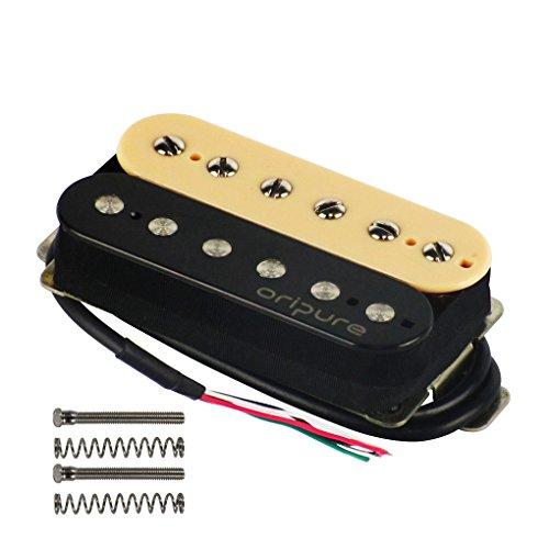 OriPure Alnico 5 Guitar Humbucker Pickups Handmade Neck Pickup-Warm Clear Sound ()