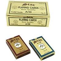 Star Gold Serie No1 Altın Seri %100 Plastik Oyun Kağıdı 2 Deste