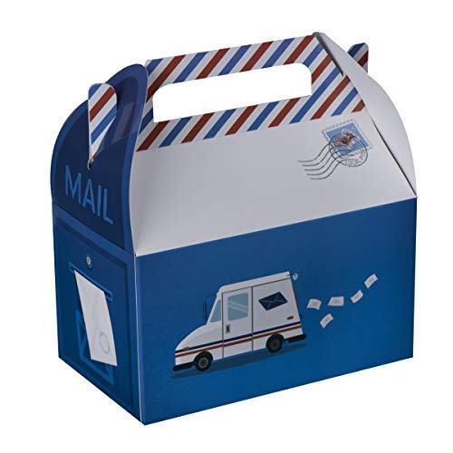 Christmas Post Office - Hammont Post Office Mail Treat Boxes 10 Pack - 6.25