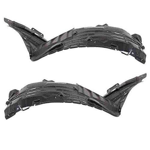 Koolzap For 06-09 350Z 3.5L Front Splash Shield Inner Fender Liner Left & Right SET PAIR