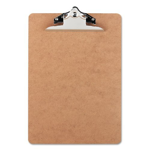 Office Impressions - Hardboard Clipboard - Brown by Office Impressions