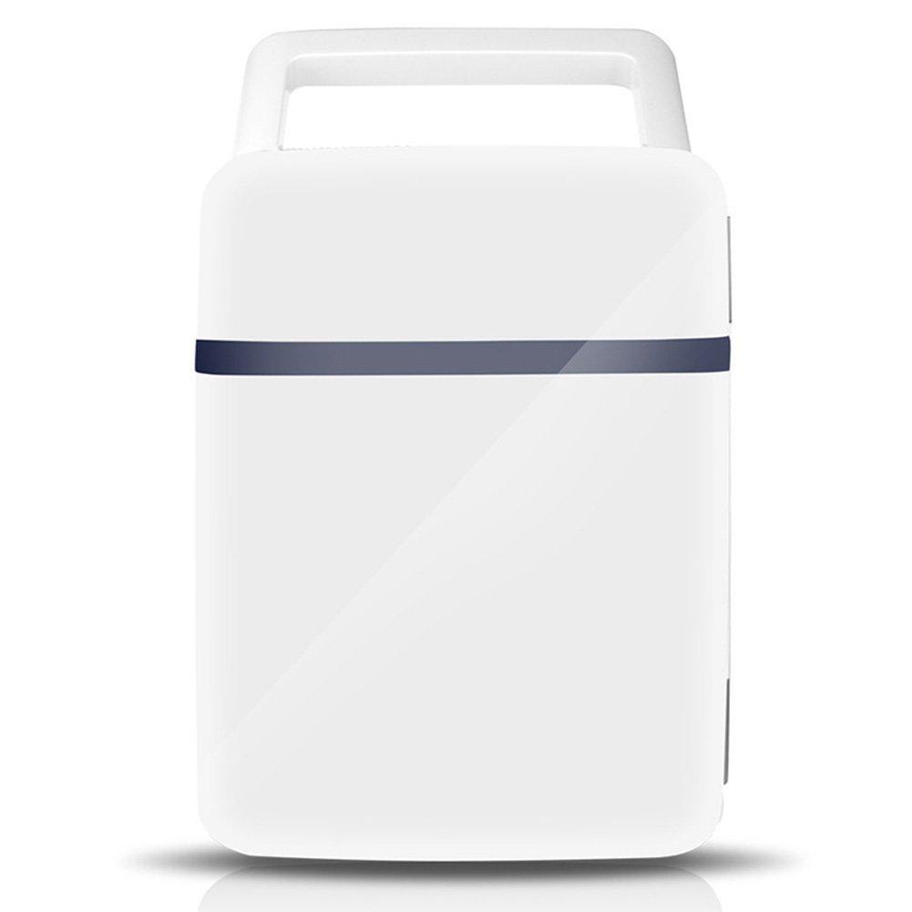 LIQICAI 10L Tragbar Elektrische Kühlbox Auto Heizung Kühlung Doppelnutzung Mini Einfacher Tragegriff 12V DC (Auto)/220V AC (Zuhause)