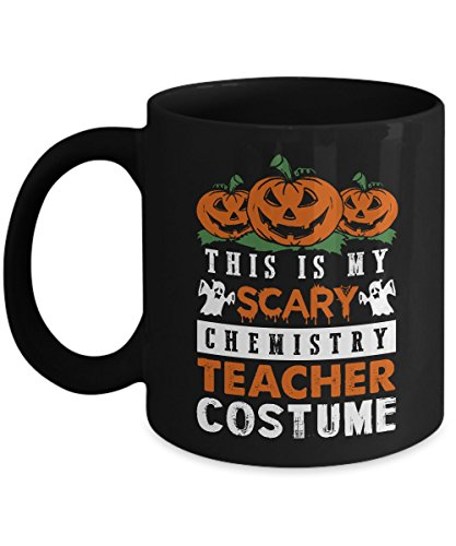 Halloween Black Coffee Mug 11oz This Is My
