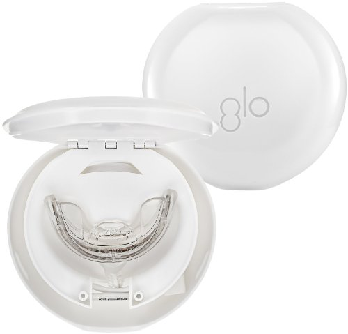 GLO Science Brilliant Whitening Mouthpiece and Case, 2 Count
