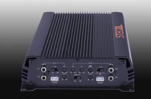 Steg QM75.4 Amplificatore 4 Canali 75x4 Rms Hi-Level Finali Audiophile New 2019