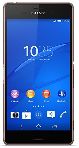 Sony Xperia Z3 Smartphone (5,2 Zoll (13,2 cm) Touch-Display, 16 GB Speicher, Android 4.4) kupfer