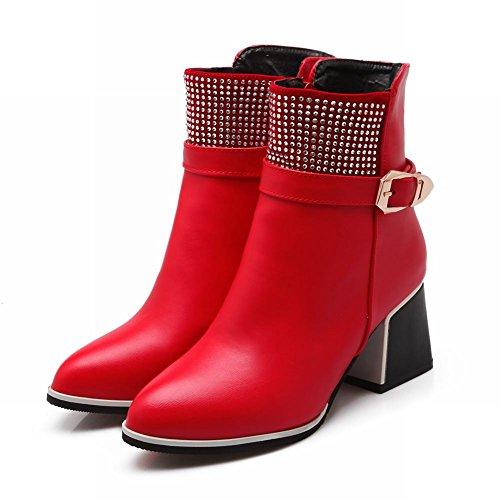 Stivaletti Alla Caviglia Con Cinturino Alla Caviglia E Fibbia In Metallo Stile Latino