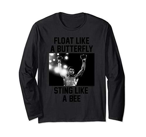 Muhammad Float like a Butterfly Sting like a Bee Long Sleeve