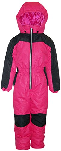 Pulse Little Girls and Toddler 1 Piece Snowsuit Coveralls Cutie (2T, Juicy (Juicy Coat)