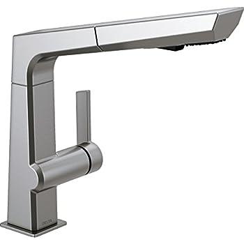 Delta Faucet Pivotal Single-Handle Kitchen Sink Faucet