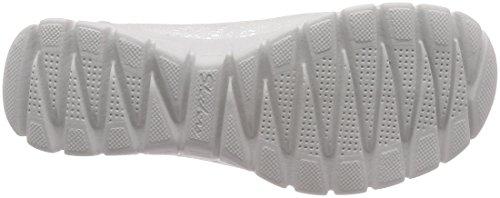 Skechers Damen EZ Flex 3.0-Beautify Geschlossene Ballerinas Weiß (White)