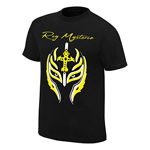 (WWE Rey Mysterio Greatest Mask of All Time T-Shirt Black)