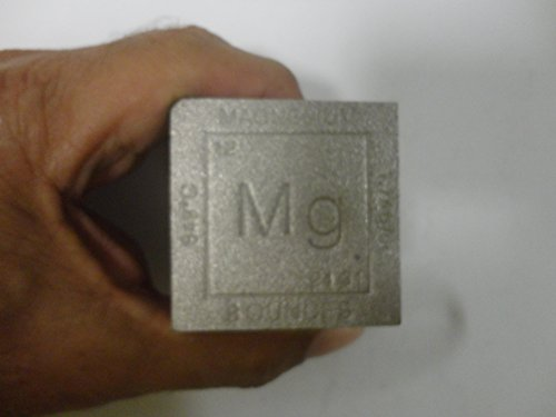 MAGNESIUM SQUARE CUBE LARGE OUNCES THICK HEAVY