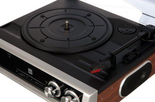 Dual DTR 50 Tocadiscos con Altavoces (Antena, 3,5 mm Jack, FM ...