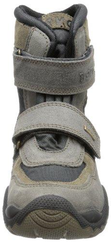 Primigi TILTON-E - zapatilla de velcro de cuero niño gris - Grau (GRIG.SC/GRIG.SC TILTON-E)