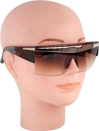 Lady Gaga Brown Costume Sunglasses by Flashback & Freedom