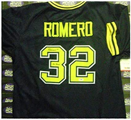Sierra Romero Autographed Jersey Michigan Wolverines Softball Blue Psa Authenticated Autographed College Jerseys At Amazon S Sports Collectibles Store