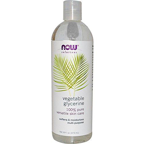 Glycerin Hair Care (Now Foods Solutions Vegetable Glycerine Pure Moisturizing Oil 16 fl oz 473 ml)