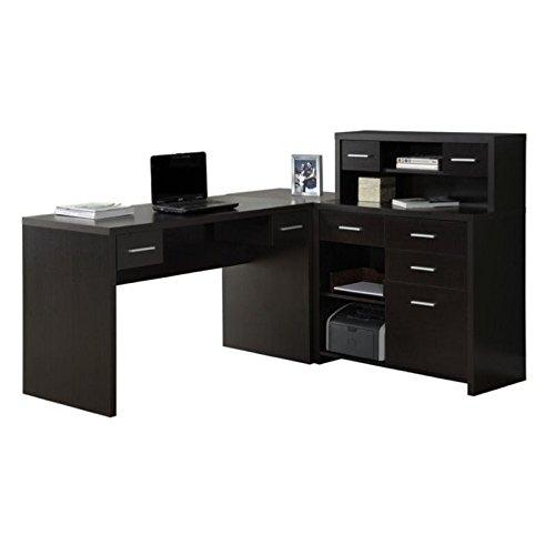 Hollow-Core L-Shaped Computer Desk