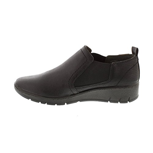 online store 41fc2 d4f56 Jana 24304 Damen Chelsea Boots Slipper Weite H schwarz ...
