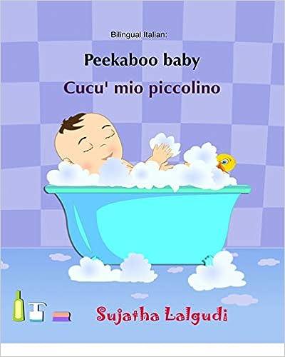 Amazon.com: Peekaboo baby. Cucu mio piccolino: (Bilingual ...