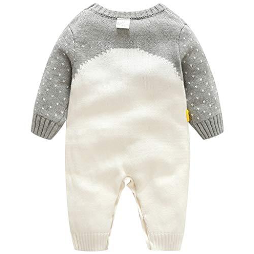Bebe Mameluco Niños Jersey Navidad Mono - Pijama Invierno Bebé Niñas ...