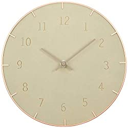 Piatto Wall Clock 10In Concrete
