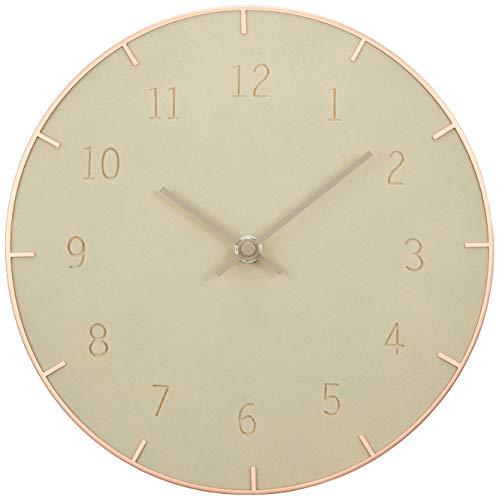(Piatto Wall Clock 10In Concrete)