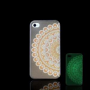 QHY iPhone 5/5S iPhone - Per retro - per Design/Fosforescente Plastica )