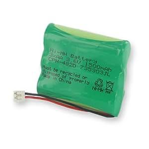 Empire CPH-482D Níquel metal hidruro 1500mAh 3.6V - Batería/Pila recargable (Níquel metal hidruro, Teléfono DECT, Ultra High, Verde, GE 5-2548)