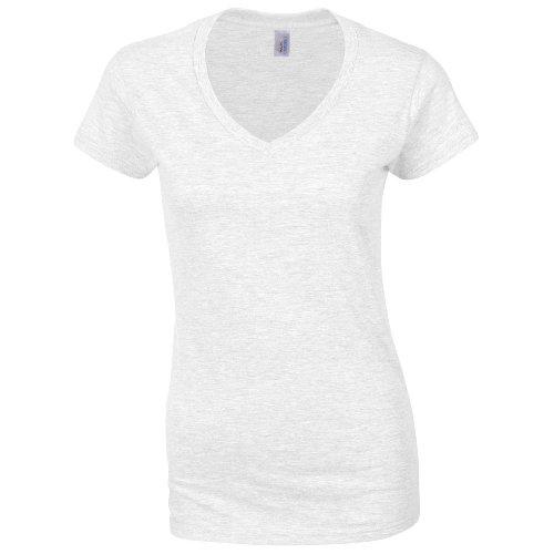Women's V-Neck T-Shirt COLOUR White SIZE M