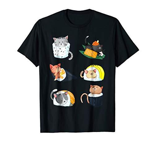 Sushi Cat 2 All Costumes - Sushi Cat Lover Nigiri Hand Roll Cute Gift