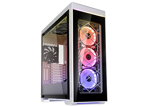 Lian Li ALPHA Series 550 550W White Tempered Glass ATX Mid Tower PC Case