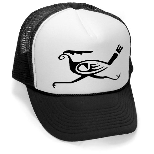 hopi-road-runner-native-american-indian-mesh-trucker-cap-hat-black