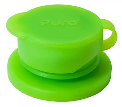 Pura Sport Big Mouth Silicone Sport Top Plastic Free, NonToxic Certified, BPA Free