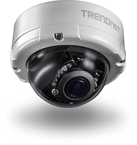 TRENDnet Indoor/Outdoor 4 Megapixel, Varifocal PoE IR Dome N