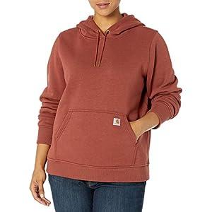 Carhartt Women's Clarksburg Pullover Sweatshirt (Regular and Plus Sizes)