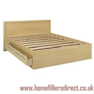 Sicilia Maple Double Bed Frame 4ft6in