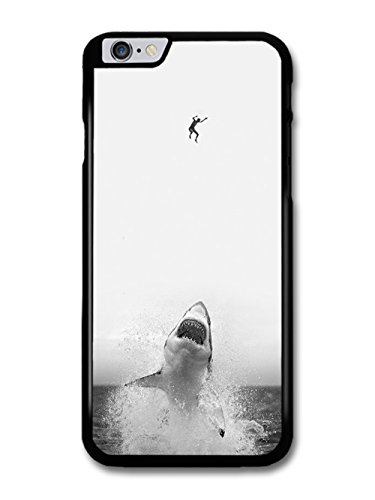 Cool Scary Shark in Sea Biting Man in Sky Design case for iPhone 6 Plus 6S Plus