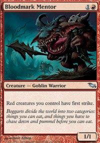 Magic: the Gathering - Bloodmark Mentor - Shadowmoor
