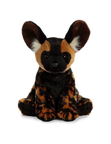 - Aurora World African Wild Dog Plush, Brown, Medium