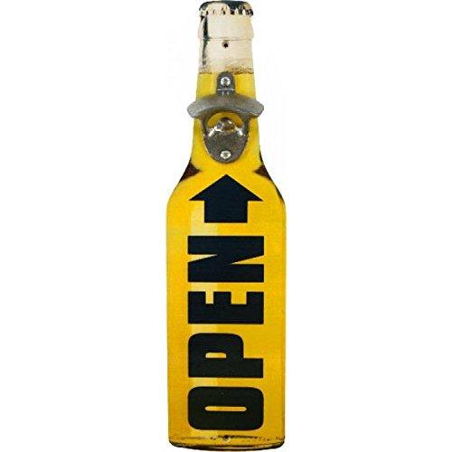 Apribottiglie OPEN Bottiglia di Birra Montaggio a Parete - Tinas Collection