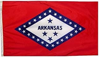 product image for All Star Flags 4x6' Arkansas Nylon State Flag - All Weather, Durable, Outdoor Nylon Flag