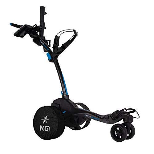 MGI Zip Navigator Remote Control Electric Golf Caddy, Black