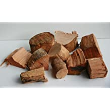 "Out Walkabout Gourmet New Zealand Manuka Wood Chunks - BBQ Smoking Chips 1""x1.5"" Approx. 6.5lbs. or 421cu.in."