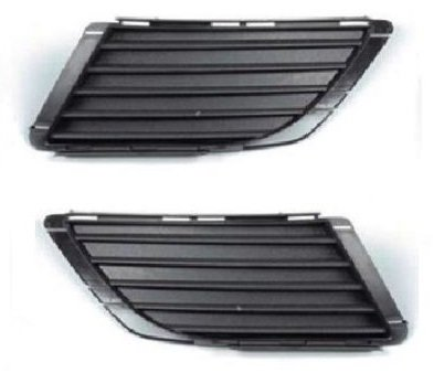 Trade Vehicle Parts OP1540 Front Bumper Fog Grille Pair Left /& Right