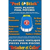 Adhesivos Boxer Peel and Stick Vinyl Plastic Pool Patch